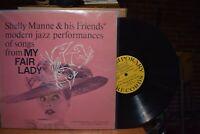 Manne Previn Vinnegar Jazz Songs of My Fair Lady LP Vol. 2 Contemporary C3527 MN