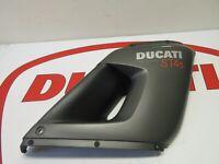 Ducati right hand upper fairing panel ST4 S Sport touring 48010601ED