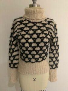Authentic DRIES VAN NOTEN Mohair / Wool Turtleneck Size S
