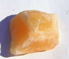 CALCITE ORANGE/JAUNE BRUTE 12 g / 25 mm PIERRE MINERAUX LITHOTHERAPIE