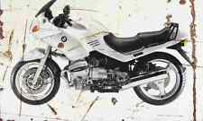 BMW R1100RS 1994 Aged Vintage SIGN A4 Retro