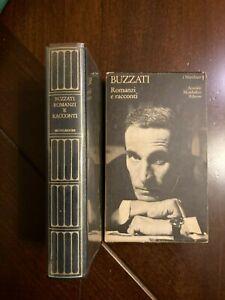 Romanzi e racconti  Dino Buzzati i meridiani mondadori 1975