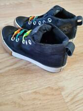 Converse All Star Black Boys size 1 High Top Sneaker