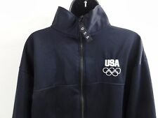 USA Olympic Committee Official US Navy Blue Athlete Jacket (XL, Made in USA)