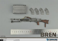 """ZY Toys 1/6 Weapon Model WWII Bren MK Machine Gun F 12"""" Soldier Action Figure"""