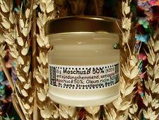 MoschusB 50%: 16 €/10g verjüngend, bleicht Alters-Pigmentflecken, regenerierend