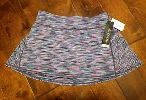 IDEOLOGY Women's XS S M L X 2XL Tennis Space-Dyed Inner Shorts MultiColor Skort