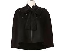 Neiman Marcus For Target Designer Prabal Gurung Black Wool Blend Cape New NWT
