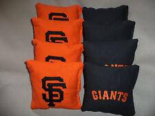 Cornhole bags San Francisco Giants SF corn hole bean bags 8 ACA Regulation MLB