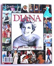 Princess Diana The Real Story Of Her Life Softcover Book