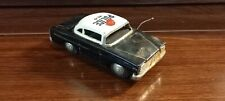 POLICE CAR - VINTAGE TIN TOY FRICTION NO.10