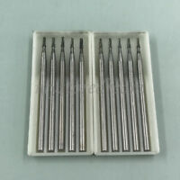 10X Dental Lab Bur SBT Tungsten Steel Drills Burs F Low Handpiece S33 016(HP702)
