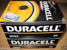 20 Fresh Duracell 3V DL2032 / CR2032 Lithium Long Lasting 2032 Batteries 2021