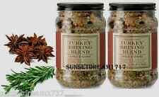 Williams-Sonoma TWO Autumn/Thanksgiving Apple & Spices Turkey Brine 1 lb. 2 oz.