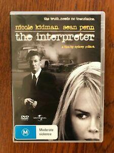 The Interpreter DVD Region 4 Disc VGC