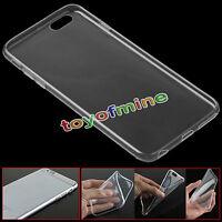Silicona Ultra Thin Claro caso de la cubierta transparente para el iPhone 6 Plus