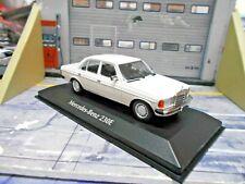 MERCEDES BENZ W123 Limousine 230E E-Klasse weis 1982 Minichamps Maxichamps 1:43