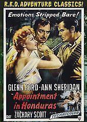 Appointment In Honduras DVD - Glenn Ford - Ann Sheridan -  New & Sealed