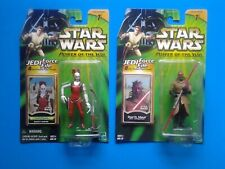 STAR WARS Power of the Jedi Darth Maul Apprentice and Aurra Sing Action Figures
