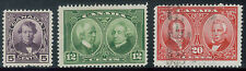 TMM* 1927 Canada Stamp collection/lot S#146-48 m & u/light hinge/medium cancel