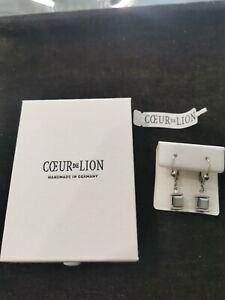 Coeur de Lion Ohrringe NEU mit Etikett und Zertifikat UVP 39€ stark reduziert