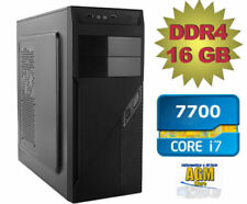 PC FISSO I7 7700 1TB 16GB DDR4  COMPUTER DESKTOP SUPER OFFERTA