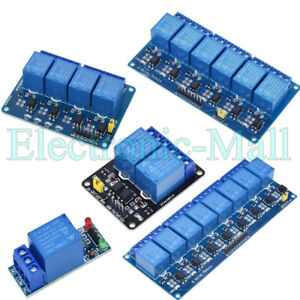 12V 24V 1/2/4/8 Channels Relay Module Interface Board with optocoupler 4 Arduino