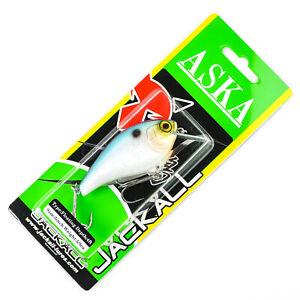 "JACKALL Aska 70SR Square Bill Silent Crankbait 3"" 5/8oz - SPARKLE SS SHAD"