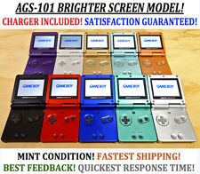 Nintendo Game Boy Advance GBA SP System AGS 101 Brighter MINT NEW Pick A Color!