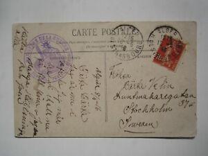 1916 ALGER MINISTERE DE LA GUERRE ALGERIA POSTCARD