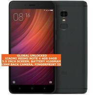 """XIAOMI REDMI NOTE 4 4gb 64gb Deca-core 13Mp Fingerprint 5.5"""" Android Smartphone"""