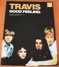 Travis buena sensación Libro De Partituras Acordes de Guitarra ficha edición Letras