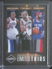 2011-12 Panini Limited Trios Triple Relic #8 Russell Westbrook, Parker, Williams