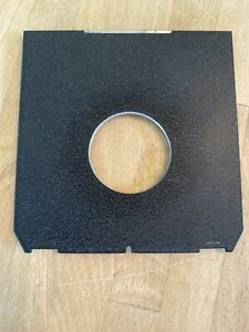 Generic Lens board  for compur copal 0 34.9mm offset hole For Width Linhof Etc