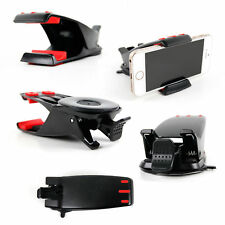 In-Car Dashboard Mount with Adhesive Pad & Flex Clamp for BLU Dash Smartphones