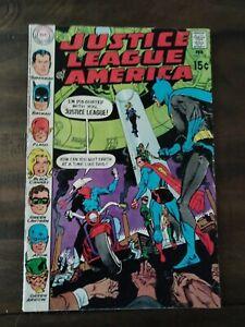 justice league of america #78(1st Jla Satellite,Vigilante)