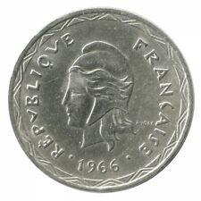 100 Francs Nouvelles Hébrides Argent 1966