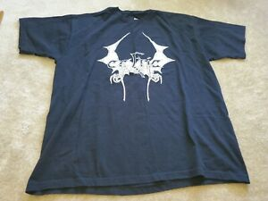 Celtic Frost logo rare t shirt band death metal xl