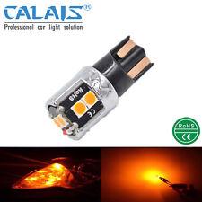 10X LED T10 W5W Amber Orange CANBUS Car Auto Light Clearance Lamp 12V 24V Bulb