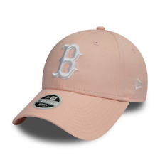 NEW ERA WOMENS LEAGUE ESSENTIAL 9FORTY. BOSTON RED SOX. PINK