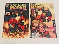 Captain Marvel Ltd Series #1 2007 Marvel Limited Series Reed & Weeks See Pics