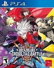 BlazBlue Cross Tag Battle USED SEALED (Sony Playstation 4, 2018)