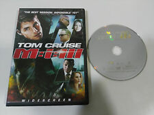 MISSION IMPOSSIBLE YET M:I:III DVD + EXTRAS TOM CRUISE ENGLISH FRANCAIS REGION 1