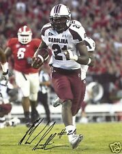 MARCUS LATTIMORE SOUTH CAROLINA SIGNED 8X10 PHOTO  W/COA 20
