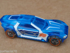 2013 Hot Wheels BULLET PROOF 140/250 X-Raycers LOOSE Blue
