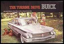 1960 Buick Color Brochure LeSabre Invicta Electra