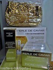 INGRID MILLET COFFRET PERLE DE CAVIAR CAVIARESSENCE 3 anti rides + CADEAU - 271€