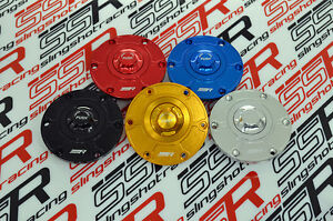 Kawasaki Ninja 300 EX300 CNC Billet Keyless Push Button Gas Petrol Fuel Cap Lid