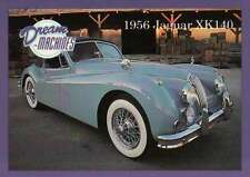 1956 Jaguar XK140, Dream Machines, Cars, Trading Card, Automobile - Not Postcard