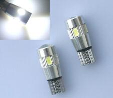 2x T10 LED CREE SIDELIGHTS WHITE NO ERROR AUDI A3 8P 8L A4 B6 B7 B8 A6 4F 4B 4G